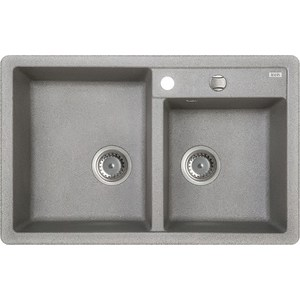 Кухонная мойка IDDIS Vane G серый (V22G782i87)