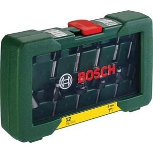 Комплект фрез Bosch 12шт (2.607.019.466) набор фрез sturm 12шт 9016 rb s8 12 3