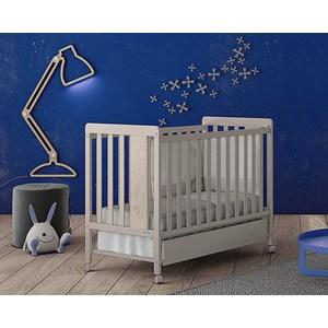 Кроватка Micuna Rabbit 120х60 sand с матрацем CH-620 Э0000017825
