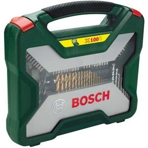 цена на Набор бит и сверл Bosch 100шт X-Line Titanium (2.607.019.330)