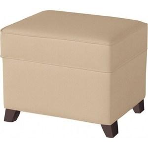 Пуф Micuna для кресла-качалки Foot rest chocolate/beige искусственная кожа (Э0000015037)