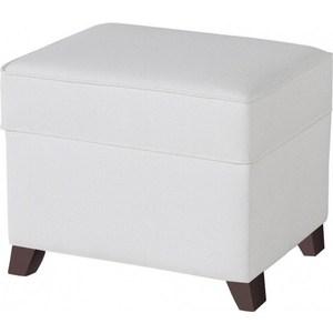 Пуф Micuna для кресла-качалки Foot rest chocolate/white искусственная кожа (Э0000017357)