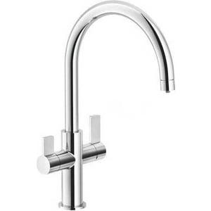 цены Смеситель для кухни Franke Ambient Clear Water с подключением к фильтру, нержавеющая сталь (115.0479.080)