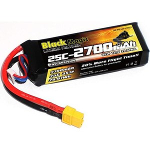Аккумулятор Black Magic Phantom 11.1В 3S 25C 2400мАч аккумулятор black magic 11 1v 3s 5000mah 90c traxxas plug bm f90 5003d
