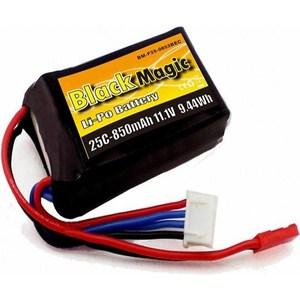 Аккумулятор Black Magic Li-Po 11.1В 3S 25C 850мАч
