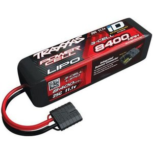 Аккумулятор TRAXXAS Li-Po 11.1В 8400мАч 3 Cell 25C Battery (iD Plug)