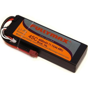 Аккумулятор Fullymax Li-Po Fullymax 11.1В 4000мАч (в корпусе) фото