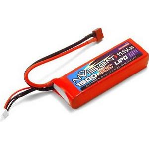 Фото - Аккумулятор nVision Li-Po 11.1В 3S 30C 1900мАч replacement 7 4v 30c 4200mah li poly battery pack for r c car model