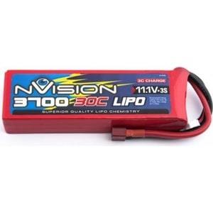 Фото - Аккумулятор nVision Li-Po 11.1В 3S 30C 3700мАч replacement 7 4v 30c 4200mah li poly battery pack for r c car model