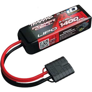 Аккумулятор TRAXXAS 1400мАч 11.1В 3 Cell 25C Li-Po Battery (iD Plug)