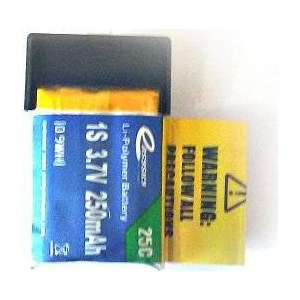 Аккумулятор EasySky Li-Po 3.7В 250мАч (P 38) цена и фото