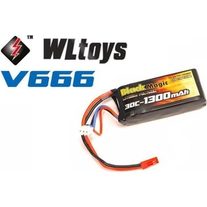 Аккумулятор Black Magic Li-Po 7.4В (BM-F30-1302BEC) аккумулятор black magic 11 1v 3s 5000mah 90c traxxas plug bm f90 5003d