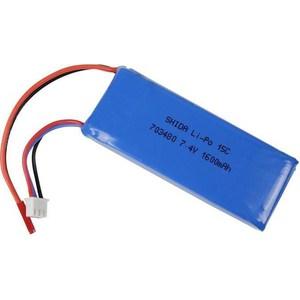 Аккумулятор WL Toys Li-Po 7.4В 1600мАч кухонный смеситель elleci po granitek 40 full black mgkpo 40