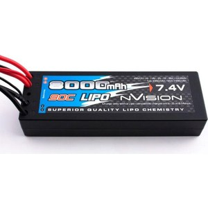 Аккумулятор nVision Factory Pro Li-Po 7.4В 2S 90C 8000мАч аккумулятор team orion carbon flx li po 7 4в 2s 45c 8000мач