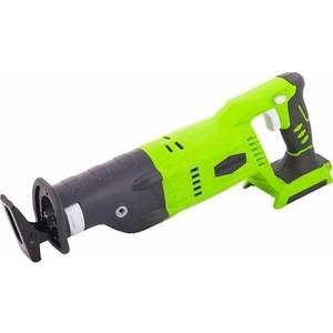 Аккумуляторная сабельная пила GreenWorks G24RS (1200007) пила greenworks g24rs 3600107a