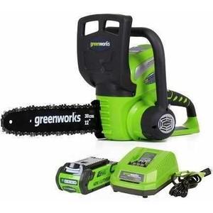 Электропила аккумуляторная GreenWorks G40CS30 (20117UA)