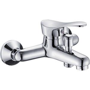 Смеситель для ванны РМС SL86 коротким литым изливом (SL86-009) цена 2017