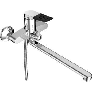 Смеситель для ванны РМС SL121 с длинным изливом (SL121BL-006E) смеситель для ванны рмс sl118 с длинным изливом sl118 143