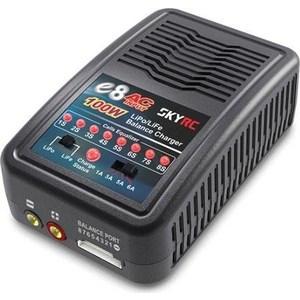 Зарядное устройство SkyRC E8 AC Li Po.Li Fe зарядное устройство skyrc ni mh en3 ac trx plug