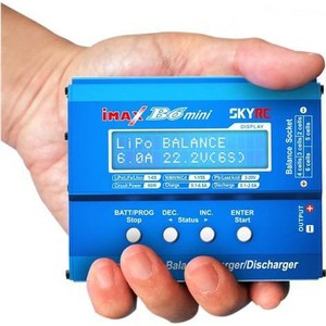 Зарядное устройство SkyRC iMax B6 Mini DC TRX Plug imax b6 battery balance charger with pd1205 12v 5a ac power adapter