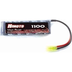 Аккумулятор Himoto Ni-Mh 7.2В 1100 мАч аккумулятор hpi racing ni mh 7 2в 6s 2400 мач