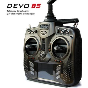 Аппаратура радиоуправления Walkera Devo 8S 2.4Ггц walkera emitter tx5804 for 5 8g devo f12e devo f7 devo f4 walkera transmitter for gopro hero3 3 4free shipping with tracking