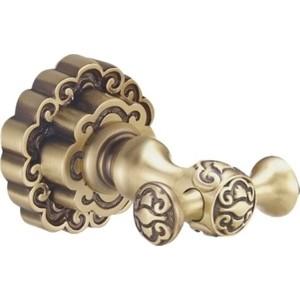 Двойной крючок Bronze De Luxe бронза (K25205)