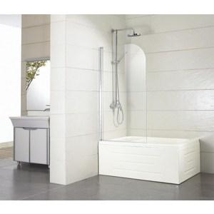 Шторка на ванну Bravat Alfa 70 прозрачная, хром (BG070.5110A-1)