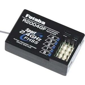 все цены на Приемник Futaba 4 канальный R2004GF(2) FHSS Sport 2.4G для передатчиков Futaba 3PLG Futaba 4PLG и Futaba онлайн