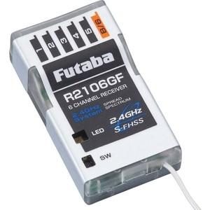 Приемник Futaba 6 канальный R2106GF 2.4G для авиамоделей бадяга для лица 911