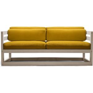 Диван Anderson Магнус Мини бел дуб-желтый вельвет мини диван 2