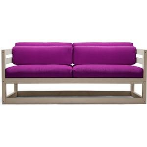 Диван Anderson Магнус Мини бел дуб-фиолетовый вельвет мини диван 2