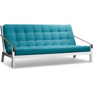 Диван Anderson Локи эмаль-голубой вельвет диван anderson локи сосна голубой вельвет