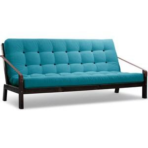 Диван Anderson Локи венге-голубой вельвет диван anderson локи сосна голубой вельвет