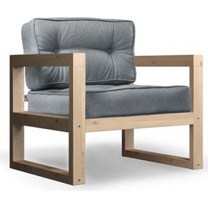 Кресло Anderson Астер сосна-серая рогожка.