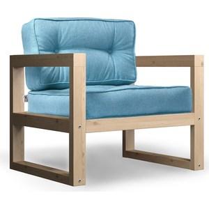Кресло Anderson Астер сосна-синяя рогожка. кресло anderson астер сосна оранжевая рогожка