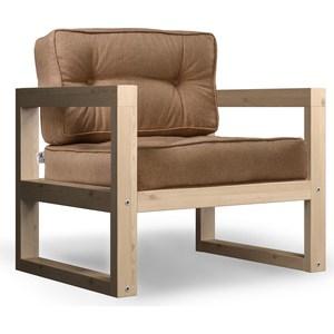 Кресло Anderson Астер сосна-коричневая рогожка. кресло anderson астер сосна оранжевая рогожка