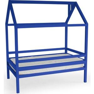 Кровать Anderson Дрима H синяя 90x190 детская кровать домик андерсон дрима н
