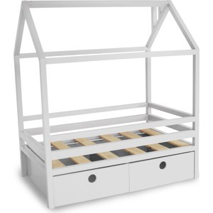 Кровать Anderson Дрима BOX белая 80x160