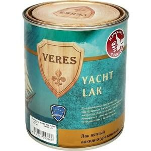 Лак яхтный VERES YACHT LAK полуматовый 2.5л. лак яхтный рогнеда eurotex полуматовый 10л