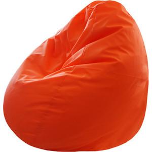Кресло-груша Папа Пуф Оксфорд оранжевый