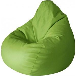 Кресло-груша Папа Пуф Экокожа зеленый кресло груша папа пуф оксфорд белый