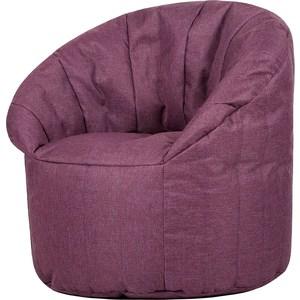 Бескаркасное кресло Папа Пуф Club chair purple dream