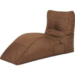 Бескаркасное кресло Папа Пуф Cinema chocolate