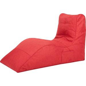 Бескаркасное кресло Папа Пуф Cinema red