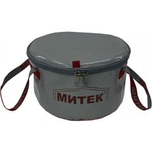 Ведро складное Митек с крышкой диаметр 30 см Н-20см. цена