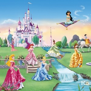 Фотообои Disney Princess Castle (3,68х2,54 м)