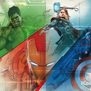 Фотообои MARVEL Avengers Graphic Art (3,68х2,54 м) marvel s avengers age of ultron