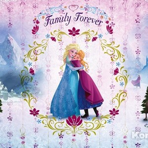 Фотообои Disney Frozen Family Forever (3,68х2,54 м) фотообои disney minnie colorful 0 73х2 02 м