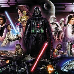 Фотообои Star Wars STAR WARS Darth Vader Collage (3,68х2,54 м) microsoft kinect star wars